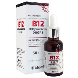 Witamina B12 Drops (krople) - 30 ml / 900 kropli