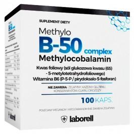 Witamina B50 Methylowa - 100 kapsułek