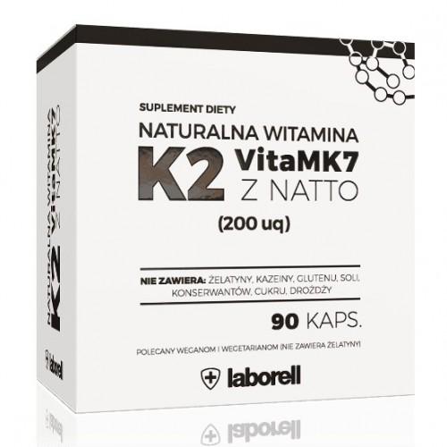 Witamina K2 MK-7 200 µg - 90 kapsułek