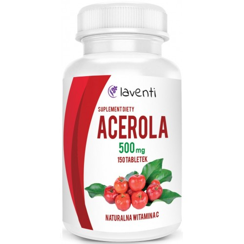 Acerola 500 mg 150 tabletek