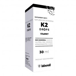 Naturalna Witamina K2 Drops (krople) - 30 ml/900 kropli