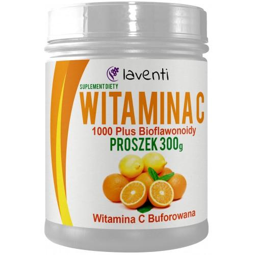 Witamina C 1000 Plus Bioflawonoidy Proszek 300 g
